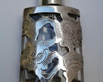 Vintage Silver Perfume Bottle (160009)