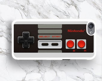 iPod Touch 6 NES Controller Case, Retro NES Console Cover, Funny 6th iTouch 5th Generation 4 Cover, Hilarious for Kidult, gift ideas for men