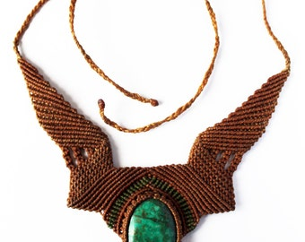 Macrame Necklace 4