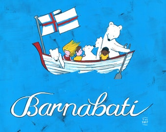 31 days in the Faroe Islands, day 23: Gonna party, Barnabati.