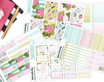 Beach Day Weekly Kit for Happy Planner Planner Stickers