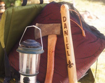 Boy Scout Stick/ Boy Scout Staff/ Boy Scout Walking Stick/ Boy Scout Hiking Stick/Boy Scout Equipment/Cub Scout Stick