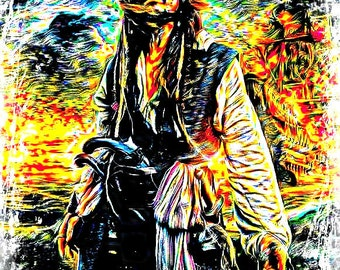 Jack Sparrow Painting 3 Johnny Depp