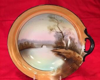 Early Noritake Luster Ware Bowl