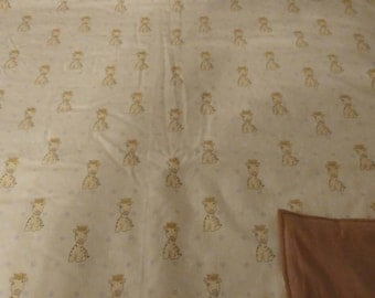 Giraffee blanket