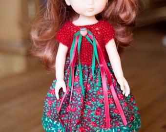 Robe rouge Fraise