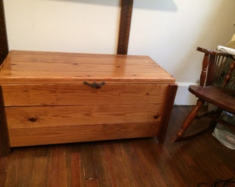Wooden Chest Reclaimed wood