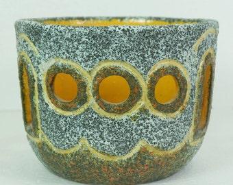 fat lava FLOWERPOT german pottery