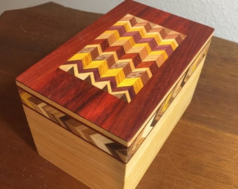 decorative card box or recipe box