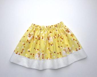 Girls Cotton Elasticated Waist Skirt 2-3 Years. Last One.
