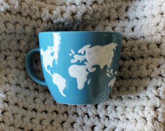World Map | 16 ounce Mug