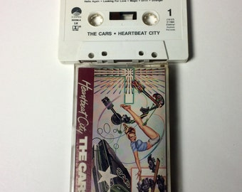 "The Cars ""Heartbeat City"" Cassette Tape"