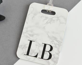Marble Luggage Tag | Personalised Luggage Tag | Identification tag | Marble Bag tag | Suitcase tag  | Custom Luggage Tag | Travel | Bag Tag