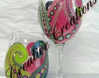 Heena wine glasses