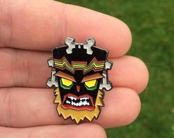Crash Bandicoot UKA UKA hard enamel pin badge