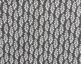 Gray and White Crib Sheet - Gray and White Leaves - Fitted Crib Sheet - Standard Crib Sheet - Gender Neutral - Modern Crib Sheet