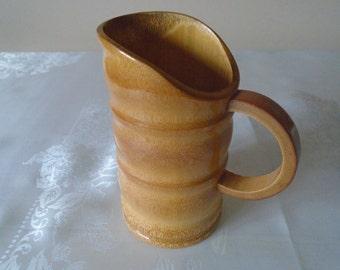 vintage bamboo jug /scoop