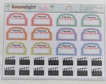 Cinema Stickers 1 sheet