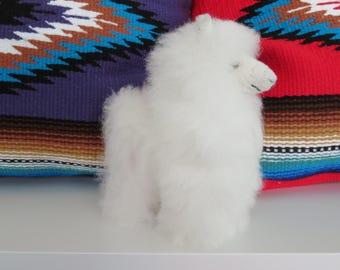 Mini Baby Alpaca Doll