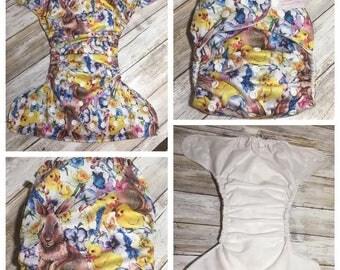 Easter OS Pocket Cloth Diaper