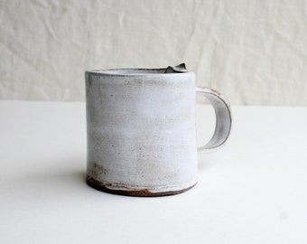 Handcrafted Chocolate Stoneware Coffee Mug, Tea Mug, Cocoa Mug, Handmade Dinnerware