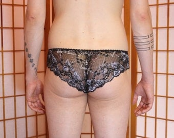 END of STOCK: Lace Panties for Men in shimmering lace