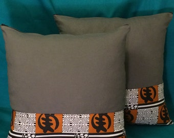 African Accent Pillows