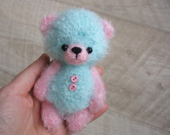 Bear Matvey, crochet teddy bear, crocheted toys