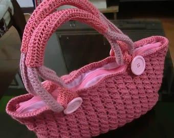 Portfolio woven crochet