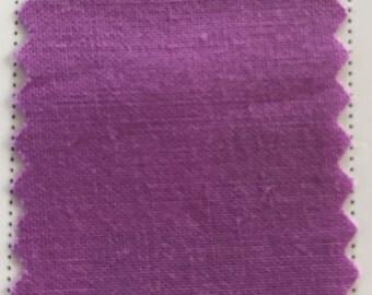 Bright Mauve Quilter's Homespun 100% Cotton Fabric 1/2m lengths