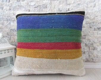 pale red kilim pillow 16x16 anatolian wool organic pillow turkey pillow kilim pillow case bohemian pillow boho pillow decorative pillow