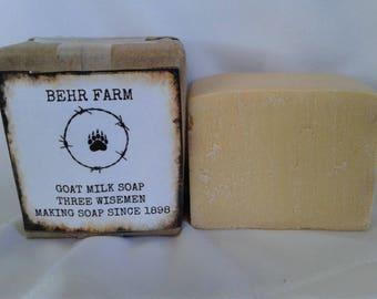 Three Wismen Goats Milk Soap