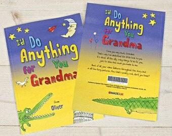 I'd Do Anything for You Grandma Book - Hardback