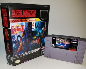 Castlevania IV and Dracula X on a single SNES cartridge