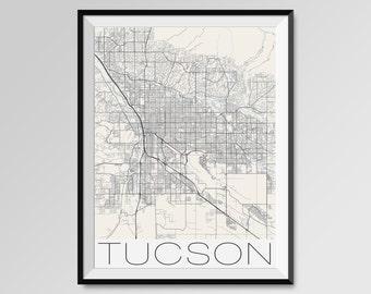 Tucson poster Etsy