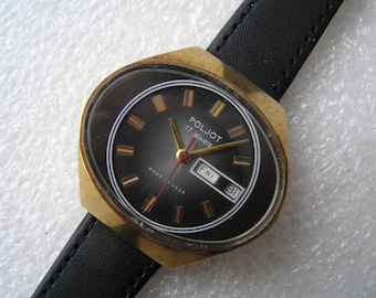 VINTAGE WATCH Ussr POLJOT - Serviced