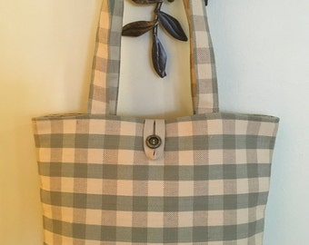 Purse fabric shoulder bag