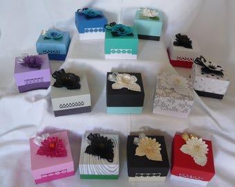 Gorgeous handmade Wedding Cake Boxes,Gift Boxes,Chocolate Box, Sweet Boxes,Favour Boxes, Suprise Box etc