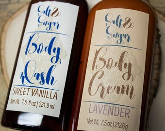 Bath and Body Gift Set, Body Cream, Body Wash, CHOOSE YOUR SCENTS, Skin Care Combo, Bath and Body, Shower Gift Set,