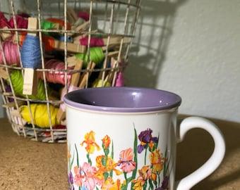 Vintage Potpurri Press Floral Coffee Mug Tea Cup