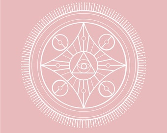 Soft pink treye