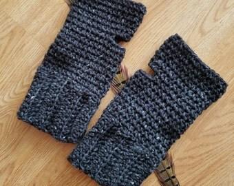 Crochet Fingerless gloves, crochet arm warmers, texting gloves, fingerless gauntlets, crochet gauntlets, crochet handwarmers, wrist warmers