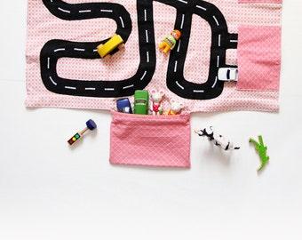 Car carpet nomadic - to slide into the handbag