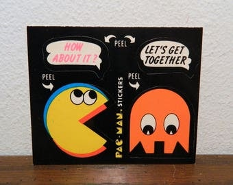 1980 Midway Pac-Man And Clyde Ghost Sticker
