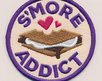 Adventure Merit Badges - S'More Addict