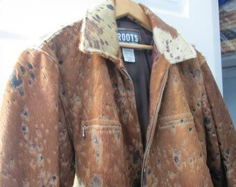 Vintage Roots Calf Pony Hair Jacket
