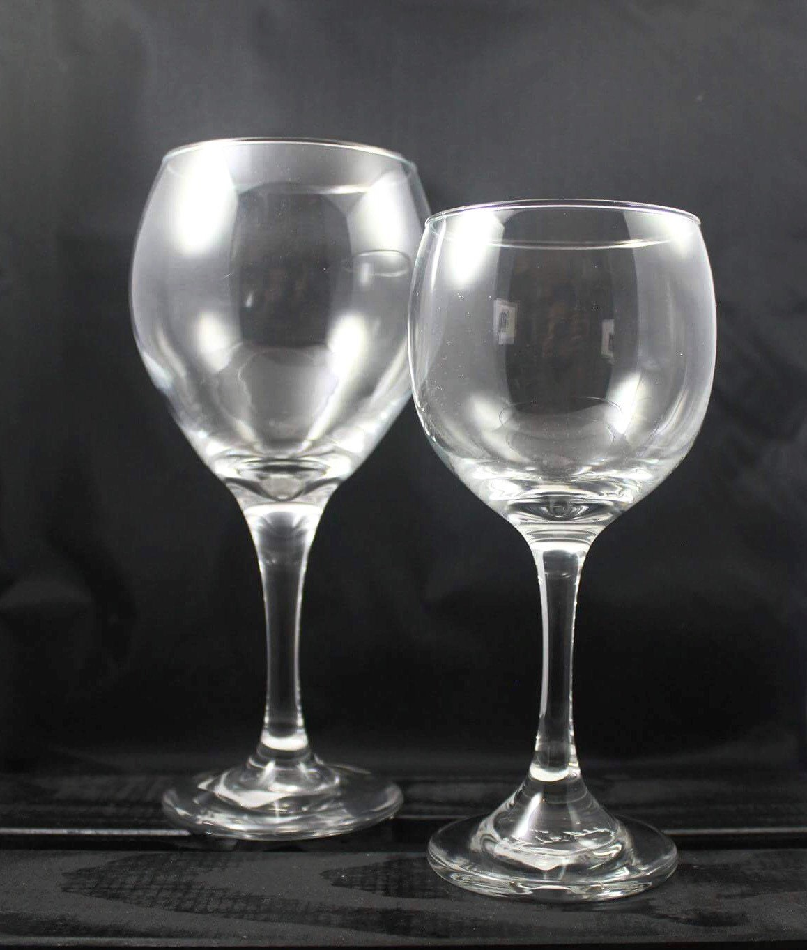 Large And Small Red Wine Glasses By Cityoriginal On Etsy