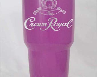 Crown Royal 30 oz YETI or RTIC