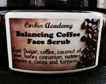 Balancing Coffee Face Scrub