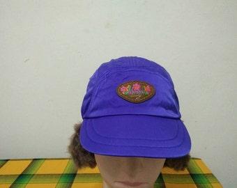 Rare Vintage ELLESSE Snow Cap | Ellesse Wing Cap Hat Free size fit all